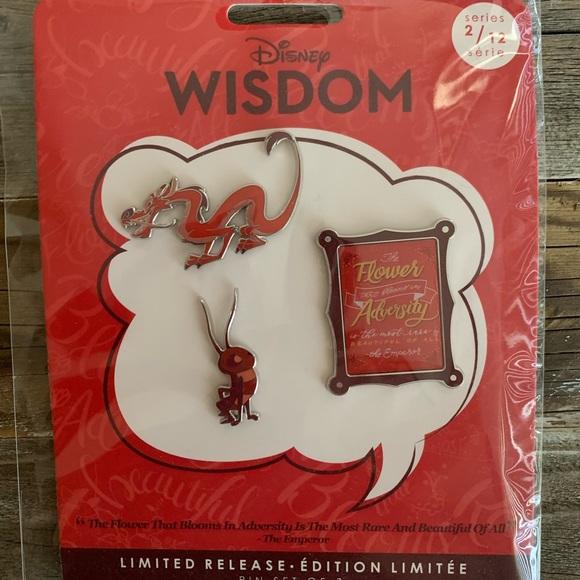 Disney Wisdom Collection February 2019 (Mushu) NWT